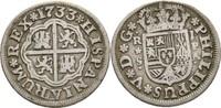 Real 1733 Spanien Sevilla Philipp V., 1700-1746. ss  45,00 EUR  +  3,00 EUR shipping