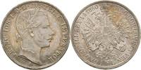 Gulden 1860 Austria Ungarn Wien Franz Joseph, 1848-1916 kl. Kratzer, vz+  25,00 EUR  +  3,00 EUR shipping