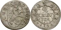 2 Kreuzer 1743 Pfalz kurlinie Heidelberg Karl Theodor 1743-1799 ss  25,00 EUR  +  3,00 EUR shipping