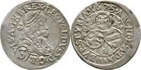 3 Kreuzer 1675 RDR Steiermark Graz Leopold I., 1657-1705. ss  95,00 EUR  +  3,00 EUR shipping