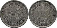 50 Reichspfennig 1938 E Weimarer Republik  ss fleckig  10.72 US$ 10,00 EUR  +  3.22 US$ shipping
