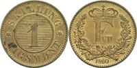 1 Rigsmont Skilling 1860 Dänemark Frederik VII., 1848-63 vz+  13.94 US$ 13,00 EUR  +  3.22 US$ shipping