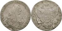 Rubel 1776 Russland Sankt Petersburg Katharina II., 1762-1796 f.ss  150.07 US$ 140,00 EUR  +  4.29 US$ shipping