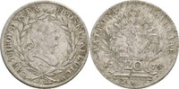 20 Kreuzer 1778 Bayern München Karl Theodor, 1777-1799 ss  32.16 US$ 30,00 EUR  +  4.29 US$ shipping