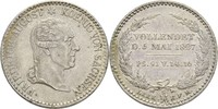 1/6 Taler 1827 Sachsen Friedrich August III./I., 1763-1827 winzige Rand... 58.96 US$ 55,00 EUR  +  4.29 US$ shipping