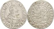 3 Kreuzer 1668 RDR Mähren Olmütz Karl II. ...