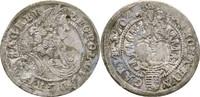 3 Kreuzer 1704 RDR Habsburg Ungarn Leopold...