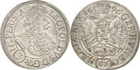 3 Kreuzer 1696 RDR Böhmen Prag Leopold I.,...