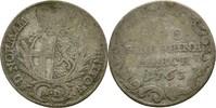5 Kreuzer 1763 Bistum Fulda Heinrich VIII. von Bibra 1759-1788 f.ss  32.16 US$ 30,00 EUR  +  4.29 US$ shipping