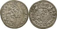 3 Kreuzer 1722 Bayern München Maximilian I...