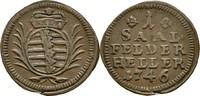 Heller 1746 Sachsen Coburg Saalfeld Franz ...