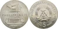 5 Mark 1974 DDR Berlin Philipp Reis kl. Verschmutzungen, prfr  10,00 EUR  +  3,00 EUR shipping