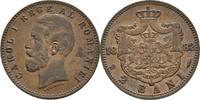 2 Bani 1882 B Rumänien Karl I., 1866-1914 ...