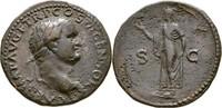 As 77-78 RÖMISCHE KAISERZEIT Titus Caesar ...