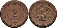 2 Mark 1921 Sachsen  vz