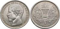 Peso 1870 Guatemala  gereinigt, ss