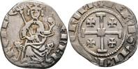 1/2 Groschen 1314-1324 Kreuzfahrer Zypern ...