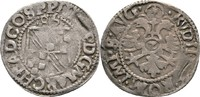 1/2 Batzen 1586 Baden Philipp II., 1569-15...