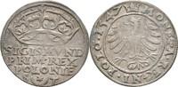 Groschen 1547 Polen Krakau Sigismund I., 1...