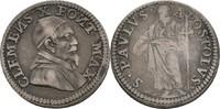 Grosso o.J. 1670-1676 Vatikan Rom Clemente...