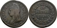 Decime 1795-1800 Frankreich Bordeaux  Schr...