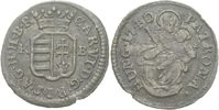 Denar 1740 RDR Ungarn Kremnitz Karl VI., 1...