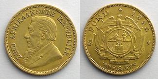 1895 Ausländische Münzen 1/2 Pond   1895    TTB ss