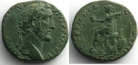 155-156 n.  Römische Kaiserzeit R/ TR POT...