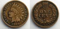 1909 S Ausländische Münzen 1909 S    TB+ s+