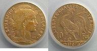 1907 Französischen gold Münzen 1907    PC...