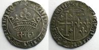 Feudalmünzen Gros à la couronne    TTB ss