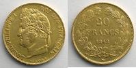 1848 A Französischen gold Münzen 1848 A  ...