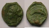 Ordentlich Sicily Syracuse Timoleon Und The Third Democracy 344-317 Bc Æ Münzen