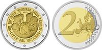 2 2015  Vatikan - 2 Euro 2015 PP Weltfamil...