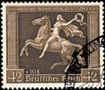 Drittes Reich - Galopprennen  Das braun...