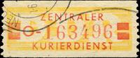 DDR - Wertstreifen für den ZKD Zentrale...