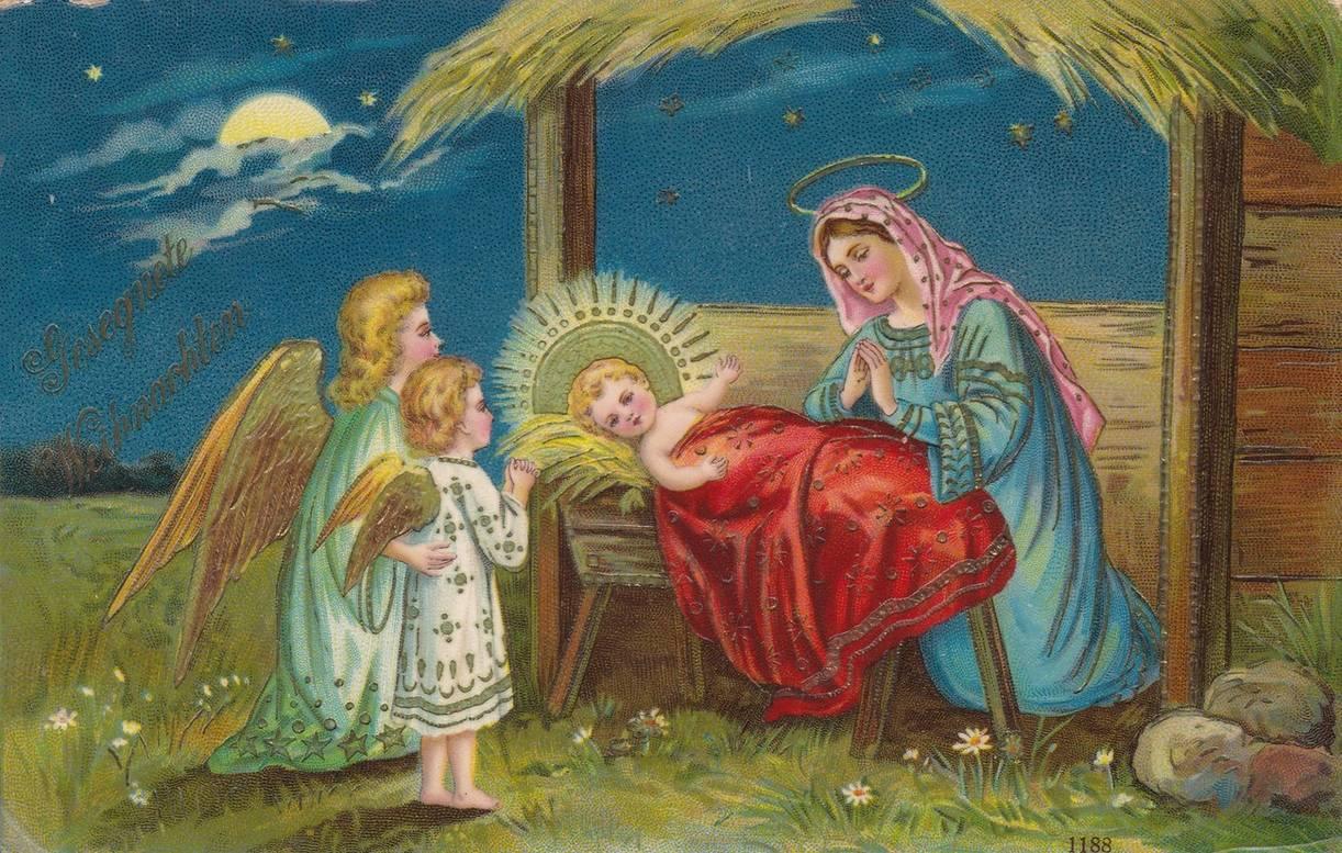 С рождеством старые картинки поздравления будешь сокрушать