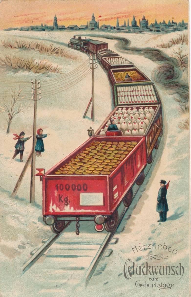 Ретро открытки железная дорога, открытку учителю