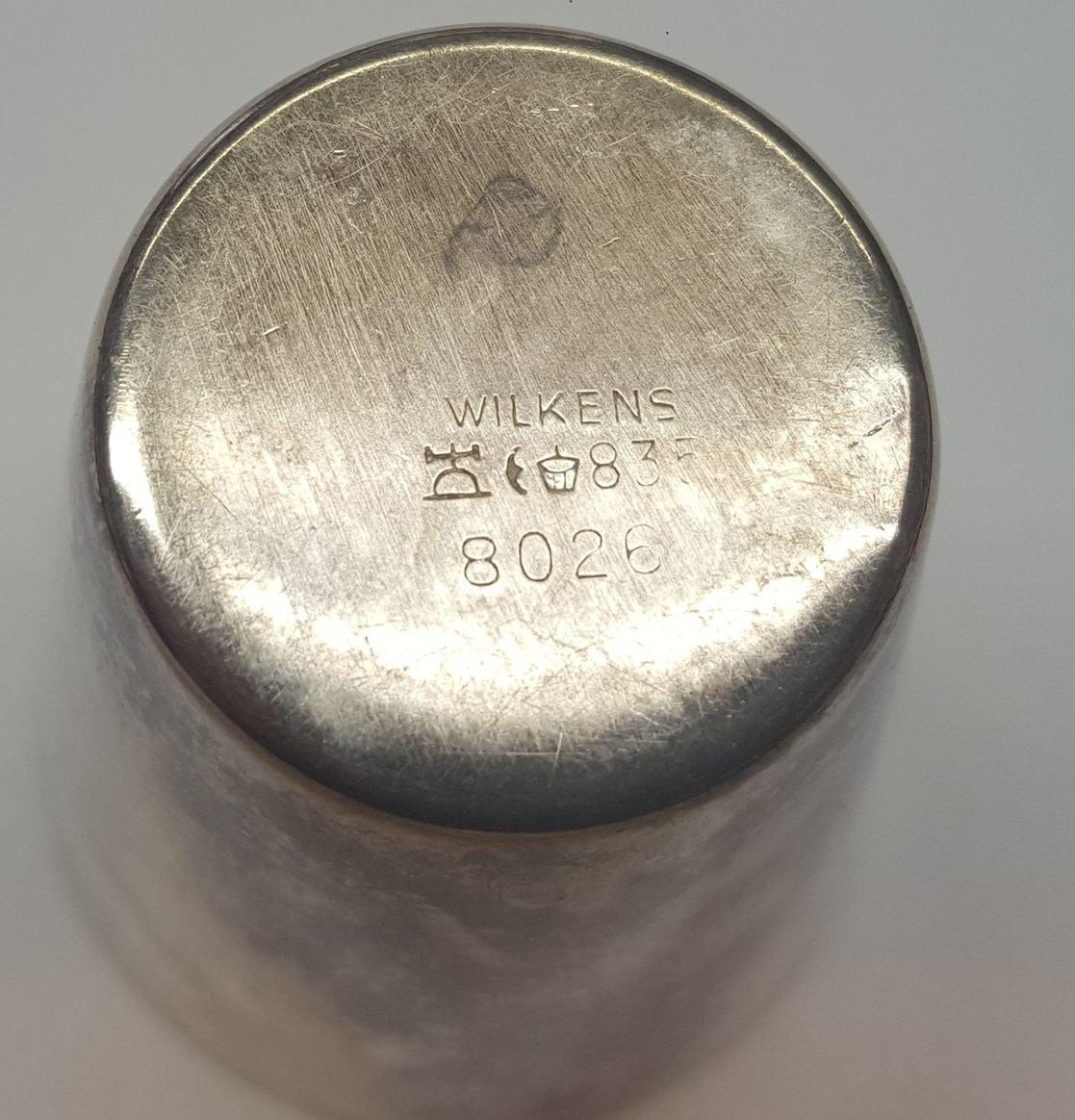 Becher Schnapsbecher Mod 7836 Wilkens 925er Sterling Silber