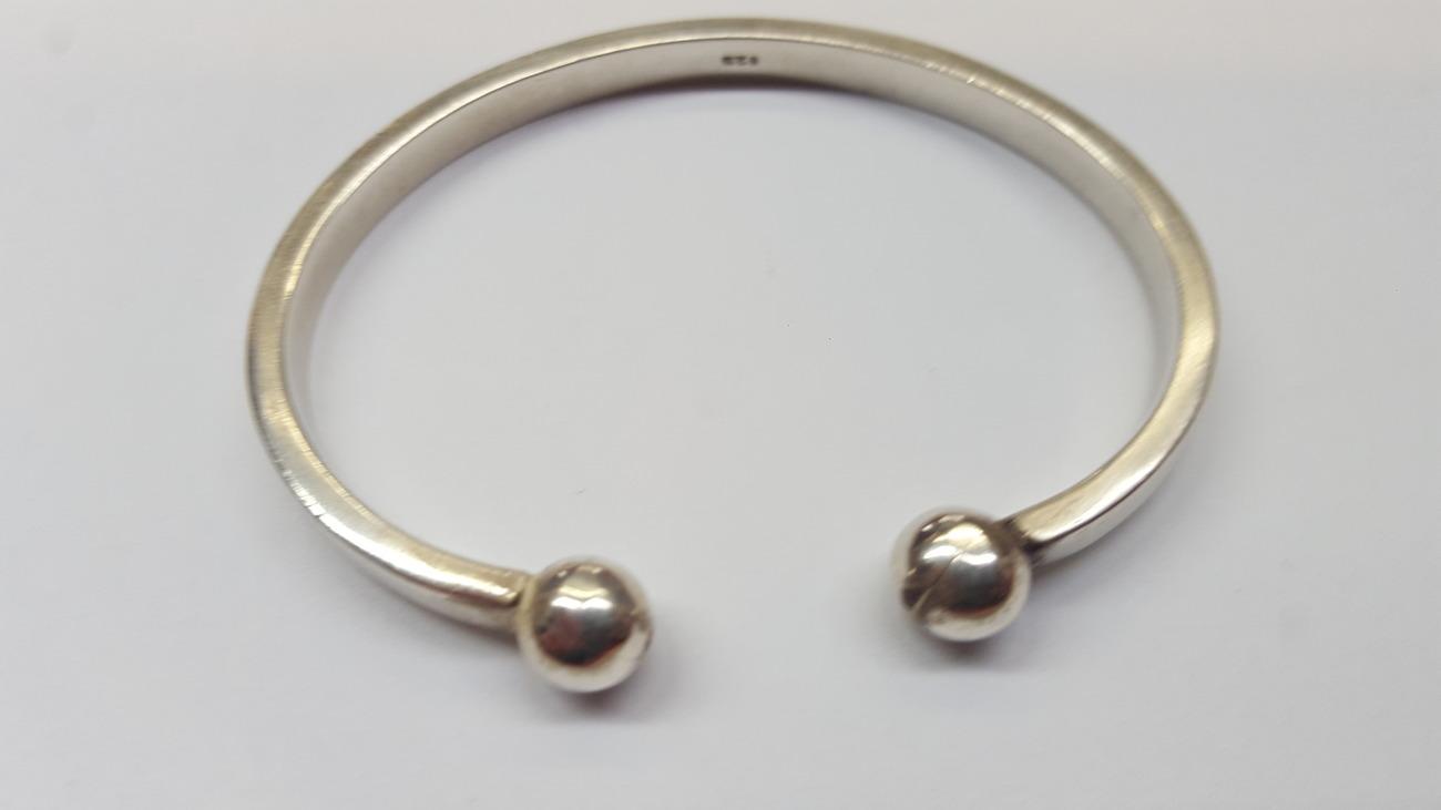 Alter Armreif 925 er Silber Silberarmreif   MA-Shops f7b5d1e4b3