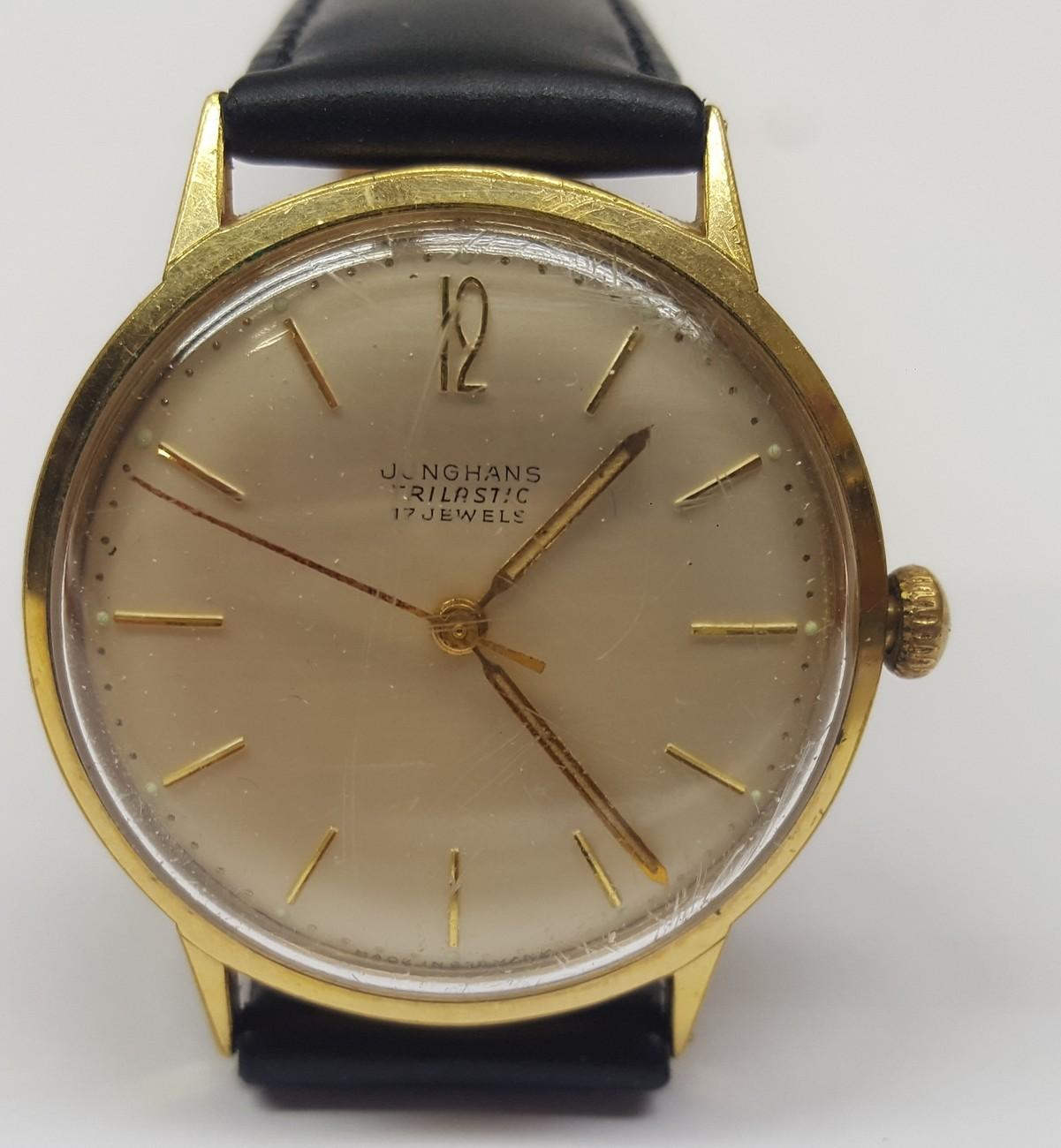 Uhr Junghans 17 Jewels