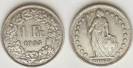1 Franken 1955 Schweiz  unz