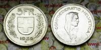 5 Fr. 1952 Schweiz  vz-unz