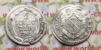 2 Kreuzer 1742 Deutschland Baden-Durlach, ...