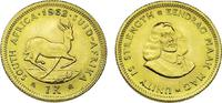 1 Rand 1962 Südafrika Springbock / Selten ...