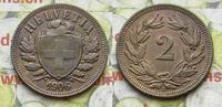 2 Rappen 1906 Schweiz  ss-vz