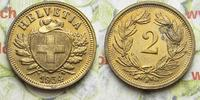 2 Rappen 1934 Schweiz  vz