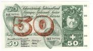 50 Franken 1961 Schweiz Typ Apfelernte, 21...