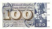 100 Franken 1973 Schweiz Typ St. Martin, 1...