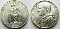 10 Lire 1934 Vatikan Vatikan, PIUS XI. Mad...